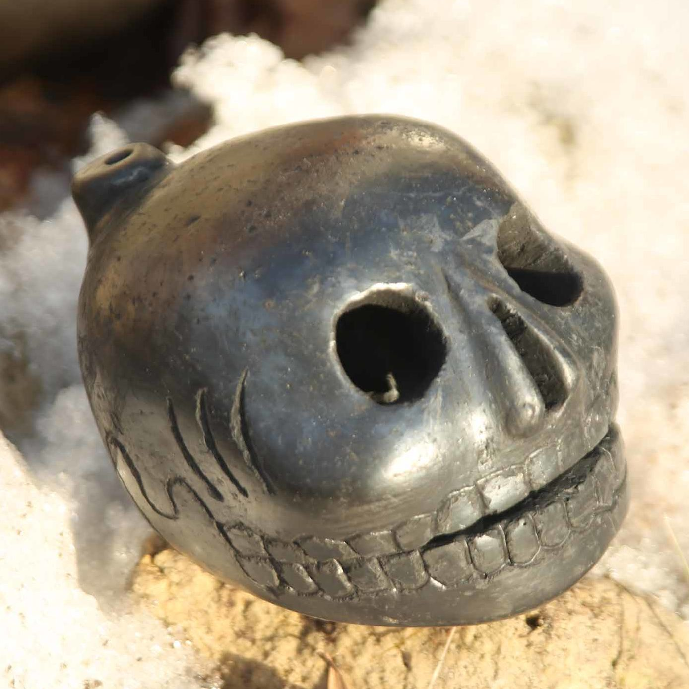 Aztec Death Whistle scary frightening sounds gut wrenching hurdeling  scream!!!